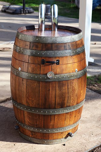 Wine Barrel Smoker Project Updated 14 Apr 11 BBQ Central